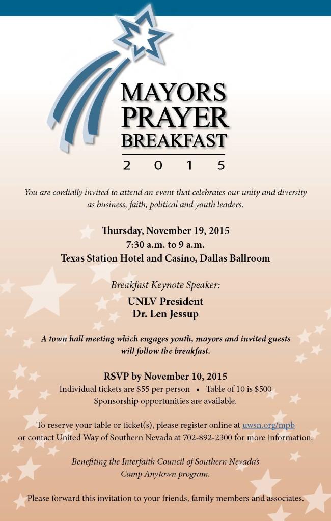 Mayors Prayer Breakfast_Email INVITE_2015-08