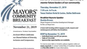 Mayors Community Breakfast 2019